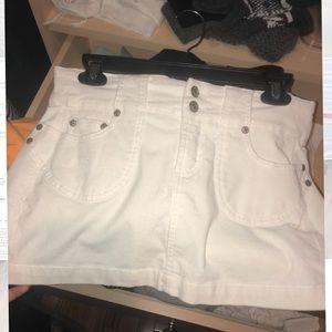 Dresses & Skirts - White denim / corduroy skirt